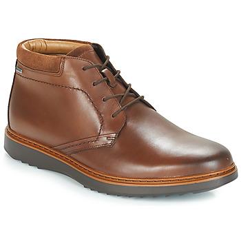 Sapatos Homem Botas baixas Clarks UN Castanho
