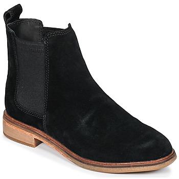 Sapatos Mulher Botas baixas Clarks CLARKDALE Preto