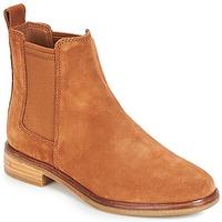 Sapatos Mulher Botas baixas Clarks CLARKDALE Camel