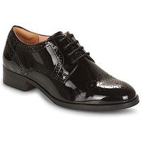 Sapatos Mulher Sapatos Clarks NETLEY Preto / Bege claro