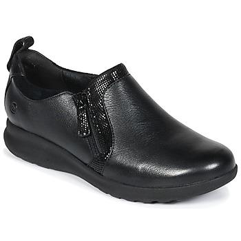 Sapatos Mulher Sapatos Clarks Un Adorn Zip Preto