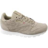 Sapatos Criança Sapatilhas Reebok Sport Cl Leather Mcc Beige