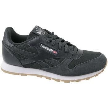 Sapatos Criança Sapatilhas Reebok Sport Cl Leather Mcc Grise