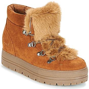 Sapatos Mulher Botas baixas Coolway OSLO Camel