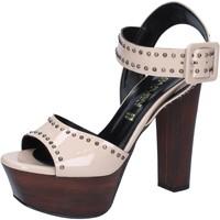 Sapatos Mulher Sandálias Olga Rubini BY316 Bege