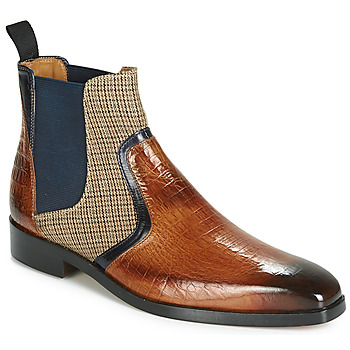 Sapatos Homem Botas baixas Melvin & Hamilton LEWIS 26 Castanho / Marinho