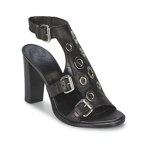Sapatos Mulher Sandálias McQ Alexander McQueen NICO Preto