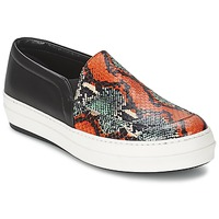 Sapatos Mulher Slip on McQ Alexander McQueen DAZE Preto / Multicolor