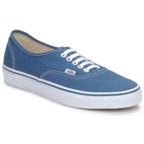 70bf0de9476 Vans AUTHENTIC Azul - Entrega gratuita com a Spartoo.pt ! - Sapatos ...
