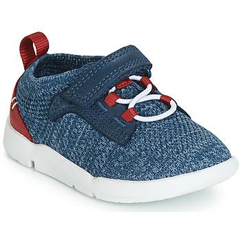 Sapatos Rapaz Sapatilhas Clarks Tri Hero Azul