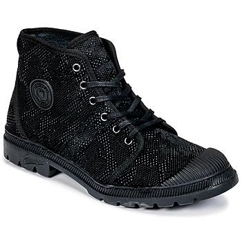 Sapatos Mulher Botas baixas Pataugas Authentique TP Preto