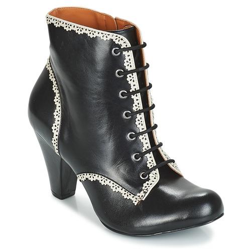 Sapatos Mulher Botins Cristofoli KARANA Preto