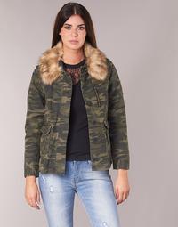 Textil Mulher Jaquetas Ikks REFLEKTION Verde