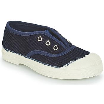 Sapatos Criança Sapatilhas Bensimon TENNIS ELLY CORDUROY Marinho