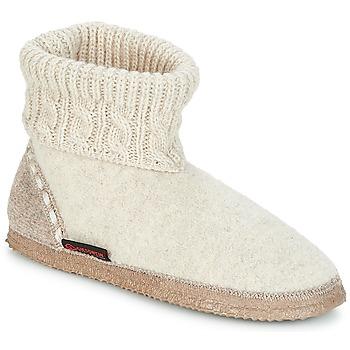 Sapatos Mulher Chinelos Giesswein FREIBURG Bege