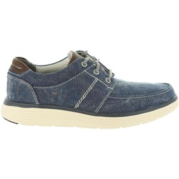Sapatos Homem Sapatilhas Clarks 26132598 UN ABODE Azul
