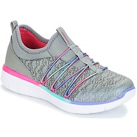Sapatos Rapariga Fitness / Training  Skechers SYNERGY 2.0 Cinza