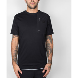 Textil Homem T-Shirt mangas curtas New Balance 247 Luxe Tee - Black 38