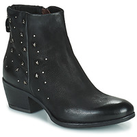 Sapatos Mulher Botas baixas Mjus DALLY STAR Preto