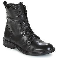 Sapatos Mulher Botas baixas Mjus PAL LACE Preto