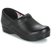 Sapatos Homem Tamancos Sanita PROF Preto