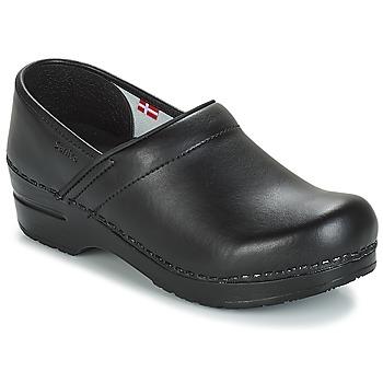 Sapatos Tamancos Sanita PROF Preto
