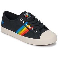 Sapatos Mulher Sapatilhas Gola Coaster rainbow Preto
