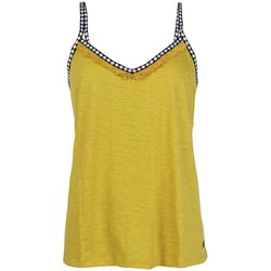 Textil Mulher T-shirts e Pólos Protest TOP  FLAWLESS MUJER AMARILLO AMARILLO