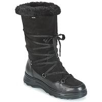 Sapatos Mulher Botas de neve Geox D HOSMOS B ABX Preto