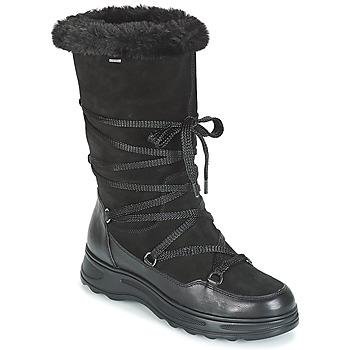0c656bcfc Sapatos Mulher Botas de neve Geox D HOSMOS B ABX Preto
