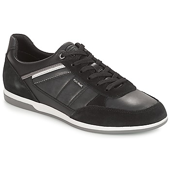 Sapatos Homem Sapatilhas Geox U RENAN Preto