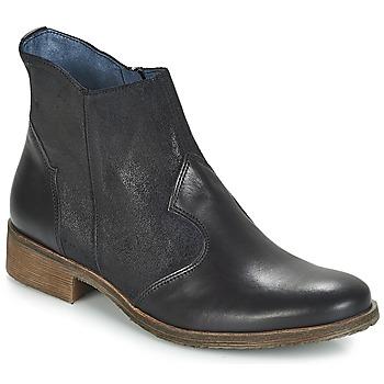 Sapatos Mulher Botas baixas Kickers LIXY Preto