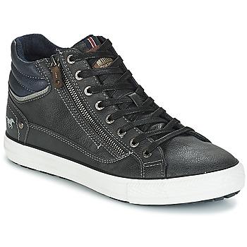 Sapatos Homem Sapatilhas de cano-alto Mustang AIYANNA Cinza / Escuro