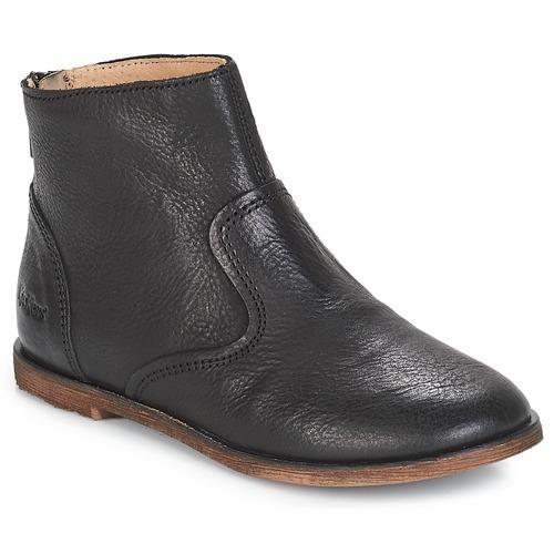 Sapatos Rapariga Botas Kickers ROXANNA Preto
