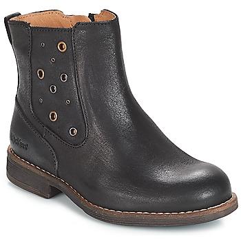 Sapatos Rapariga Botas Kickers SMAD Preto