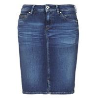 Textil Mulher Saias Pepe jeans TAYLOR Azul