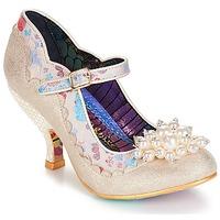 Sapatos Mulher Escarpim Irregular Choice Shoesbury Creme