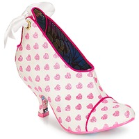Sapatos Mulher Botas baixas Irregular Choice Love is all around Branco / Rosa
