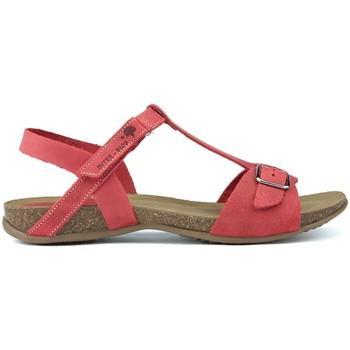 Sapatos Mulher Sandálias Interbios SANDÁLIAS DE  AFRODITE 4462 ROJO