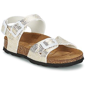 Sapatos Rapariga Sandálias Betula Original Betula Fussbett JEAN Dourado