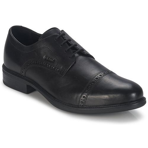 Sapatos Homem Sapatos Geox CARNABY B Preto
