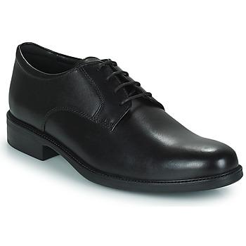 Sapatos Homem Sapatos Geox CARNABY D Preto