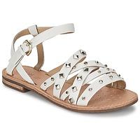 Sapatos Mulher Sandálias Geox JOLANDA E Branco