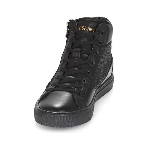 Redskins NERINAM Preto - Entrega gratuita  - Sapatos Sapatilhas de cano-alto Homem 10200