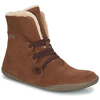 Sapatos Mulher Botas baixas Camper PEU CAMI Castanho
