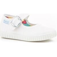Sapatos Mulher Sandálias Cbp - Conbuenpie Sandalia de piel de mujer by TROPPA (R.ST) Blanco