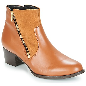 Sapatos Mulher Botins So Size JOCASSU Camel