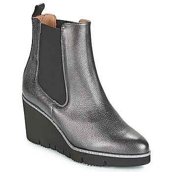 Sapatos Mulher Botas baixas Fericelli JERAMO Prata