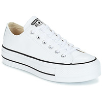Sapatos Mulher Sapatilhas Converse CHUCK TAYLOR ALL STAR LIFT CLEAN OX Branco