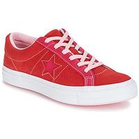 Sapatos Mulher Sapatilhas Converse ONE STAR OX Vermelho / Rosa